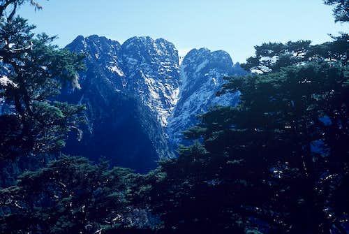 The South Yun Shan (3383m),