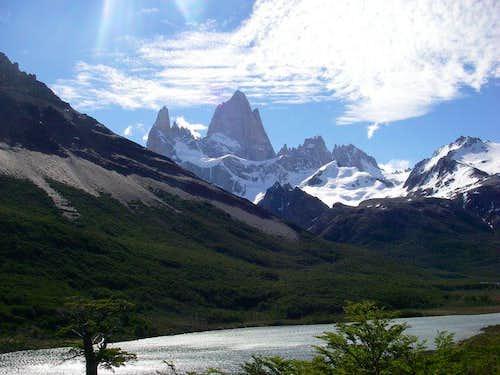Cerro Torre and Fitz Roy