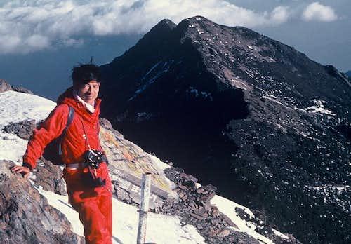 The North Peak 3858m