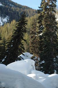 Boulder Field Up the Stryen