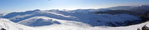 Bukowe Berdo panorama