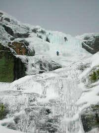 Ice fall´s in Penalara