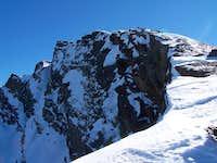 West wall of Pico Veleta,Jan...
