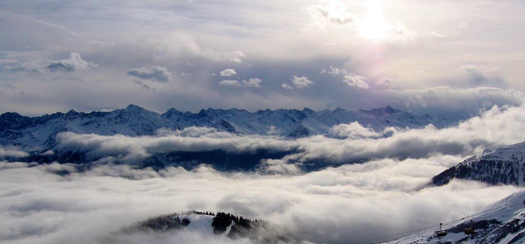 Panorama above the Clouds...