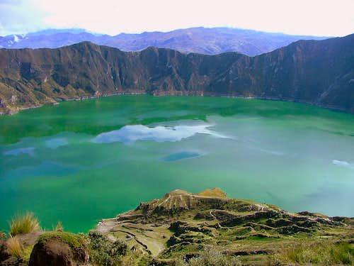 Chugchilan - Quilotoa hike.