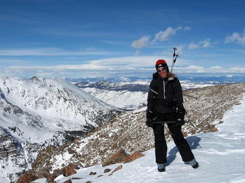Keller Mtn. summit