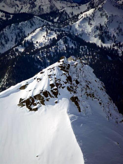 Hidden Lake Peak lookout