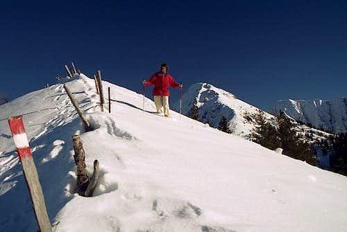 On the west ridge of...
