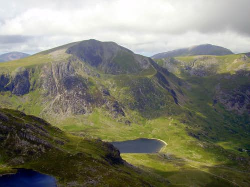 Y Garn and Elider Fawr from Tryfan