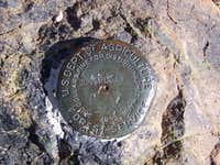 USGS Marker, Sugarloaf Mountain Summit