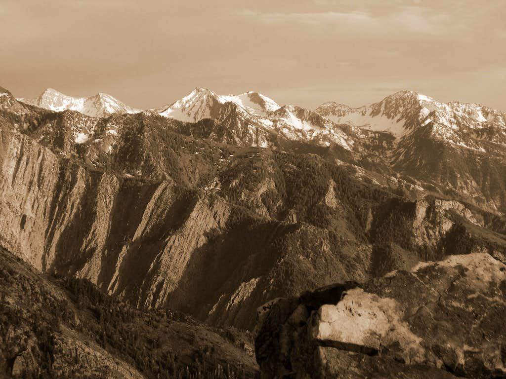 Alpine Ridge from Mount Olympus