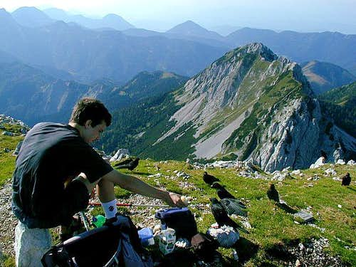 From the summit of Veliki vrh...