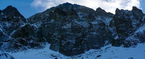 Slovakian 900 meters high Mordwand