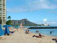 Diamond Head crater from...