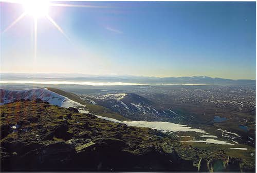 View from the Summit of Ben Klibreck