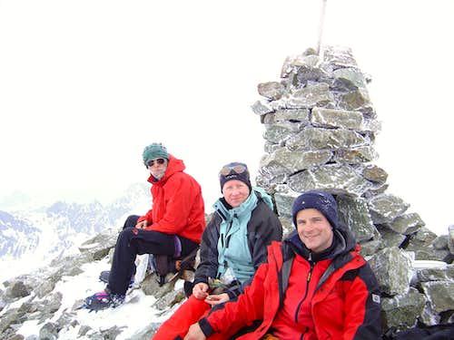 Summit of Piz d'Err 3378m