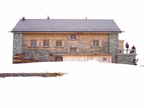 Jenatsch Hut 2652m