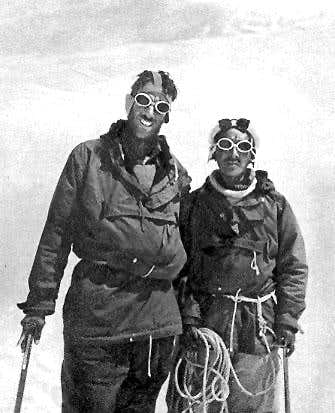 Tenzing and Hillary