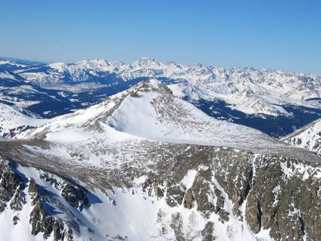 Pacific Peak and the Gore...