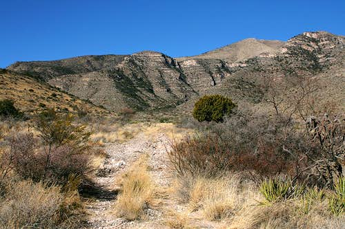 Thompson Canyon access road
