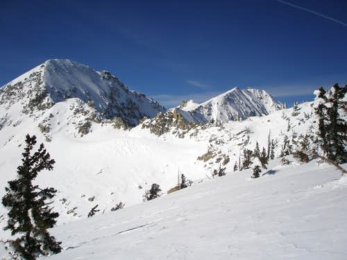 Upper Bells Peak and Lone Peak