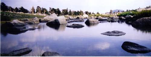 Long Lake, just before New...
