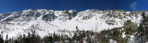 Panoramic of Huntington Ravine