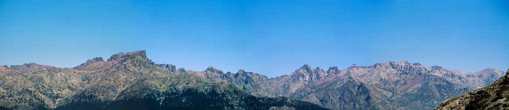 Panorama taken from Col de...