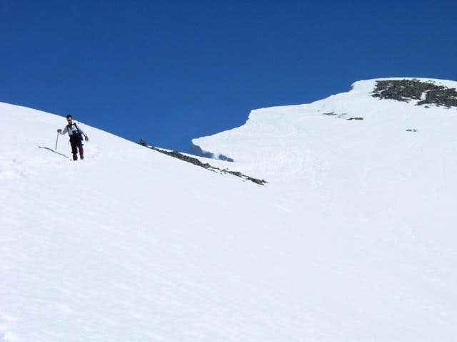 Paso del Oso - West ridge (normal route)