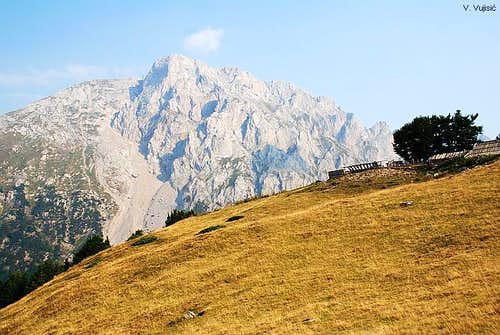 Vasojevicki Kom from Ljuban plateau