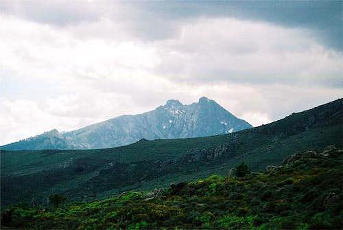 Paglia Orba (2525m) seen from...