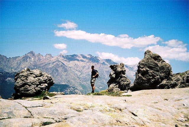 Self posing in Col de...