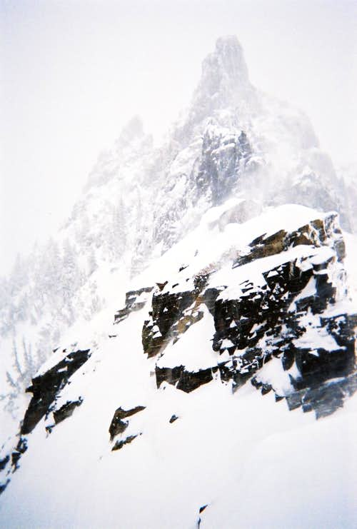 Tatoosh in Winter