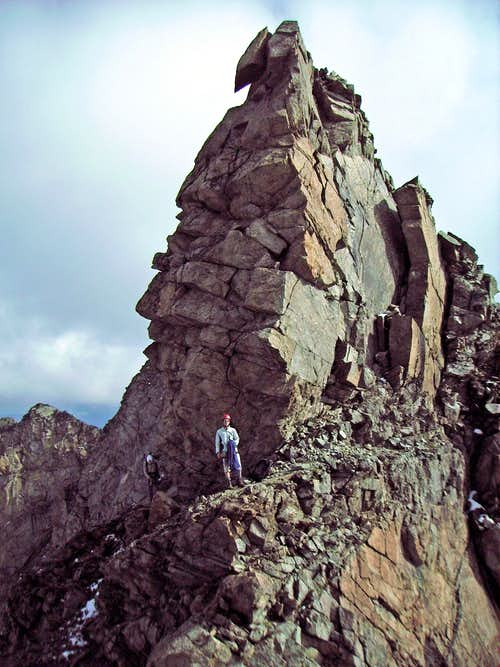 On the traverse of the Piz Boval