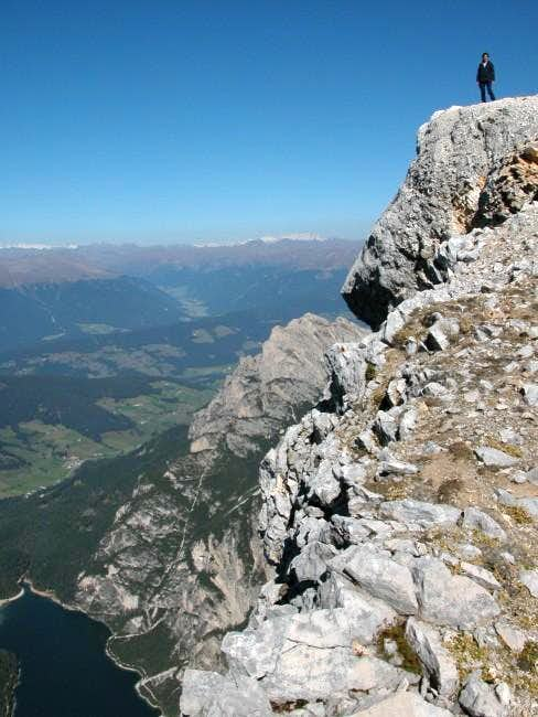 View of the summit. Pragser...