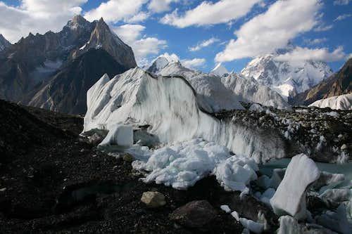 K2 & Marble Peak, Karakoram, Pakistan