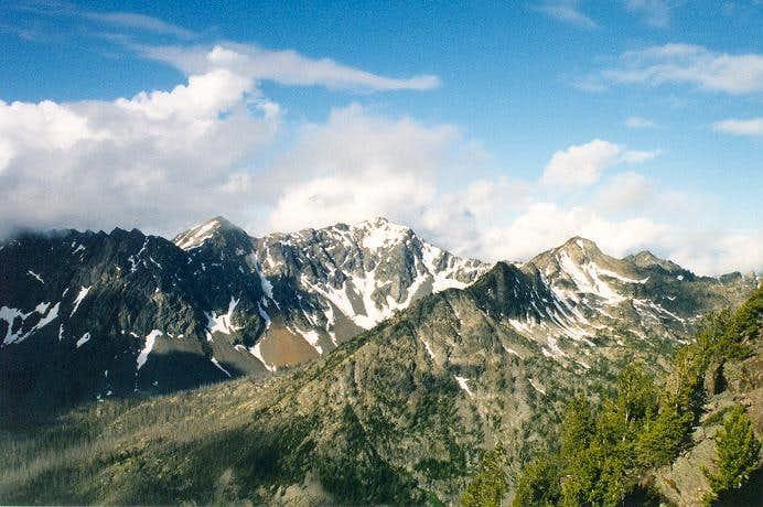 Abernathy Peak from the south...