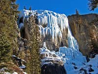 Stanley Falls Senior - Jasper National Park