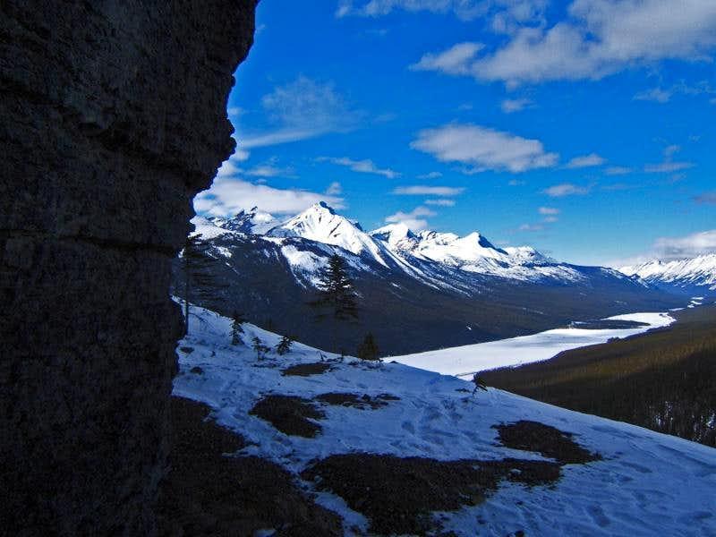 Sunwapta River Valley - Jasper National Park