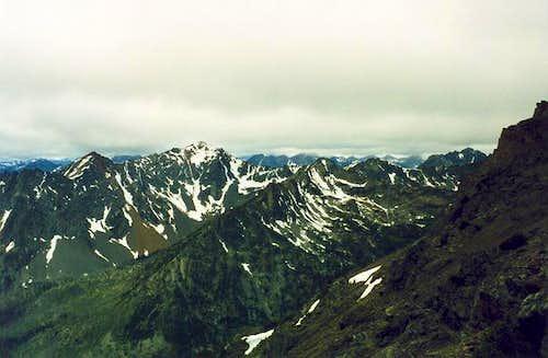 Abernathy Peak from Gardner...