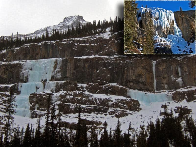 The Beauty Creek Hat Trick - Jasper National Park