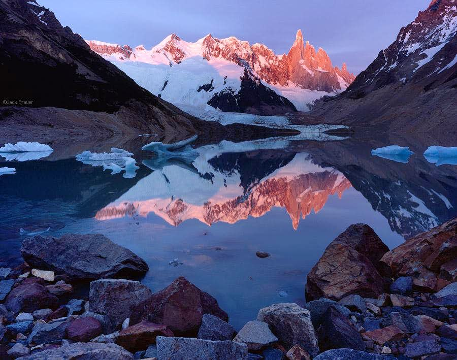 Cerro Torre reflection