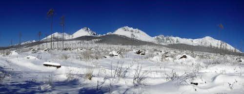 Peaks of Tatra Mountains