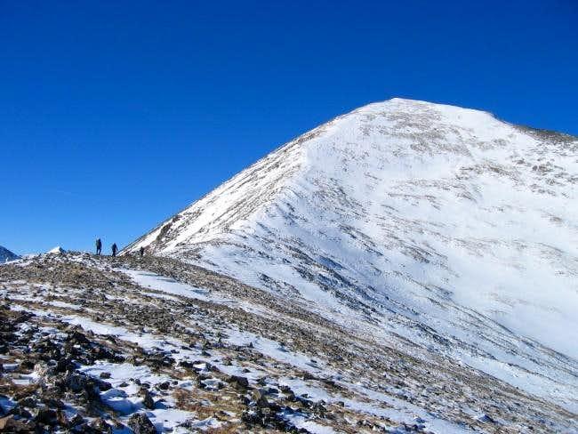 Quandary Peak Climbing Hiking Amp Mountaineering Summitpost