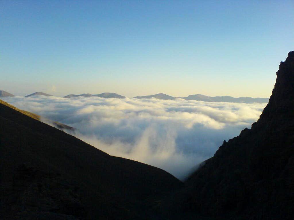 Clouds on Azad kooh