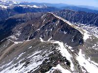 North Ridge and Kelso Ridge of Torreys