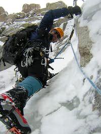 Longs Peak, CO - Flying Dutchman crux