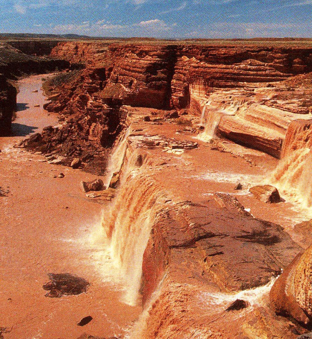 Arizona's largest waterfall?