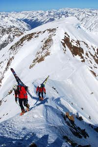 reaching the Summit of Wildspitze