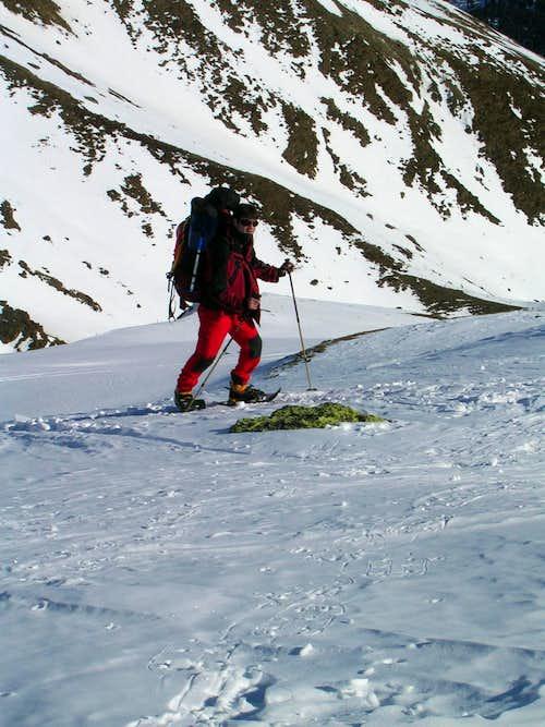Snowshoeing in the Ötztal Valley